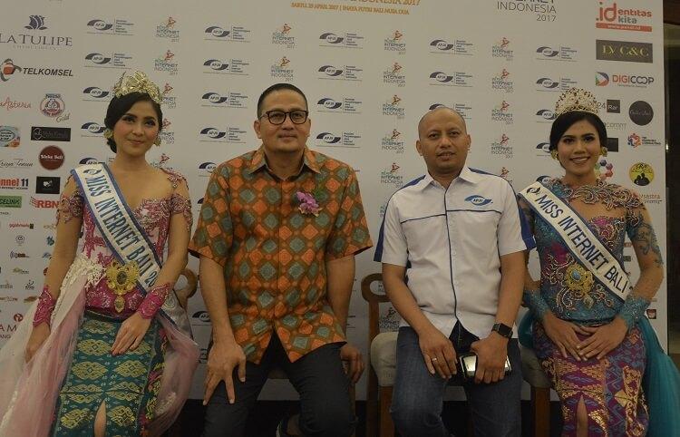konpers Miss Internet Indonesia 2017/Foto Dok. pribadi/Nusantaranews