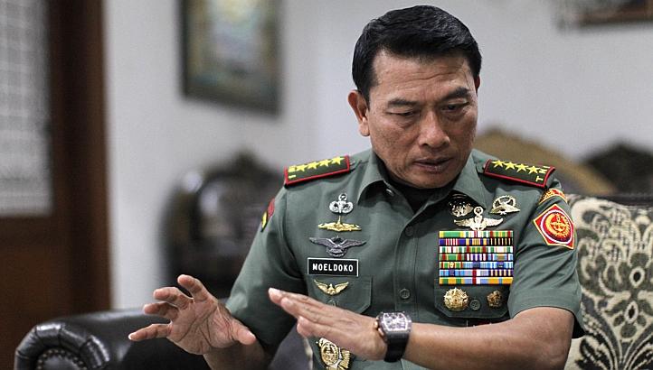 Panglima TNI Jenderal (Purn) Moeldoko