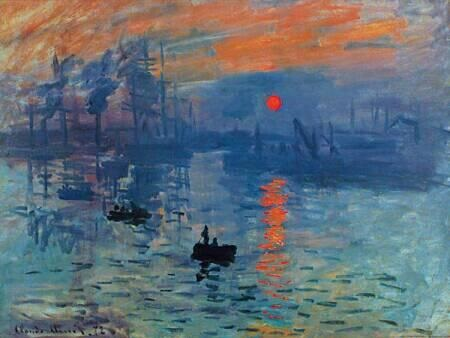 Impression Sunrise by Monet Claude | StudyBlue