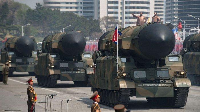 Rudal Balistik Korea Utara. (Foto: AFP/Getty Image)