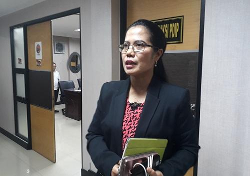 Sekretaris DPD PDI Perjuangan Jatim, Sri Untari. Foto Tri Wahyudi