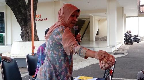 Sekretaris Jenderal Direktorat Holtikultura Kementan Sri Wijayanti. Foto Richard Andika/ NUSANTARAnews