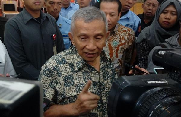 Amien Rais/Foto Richard Andika/Nusantaranews