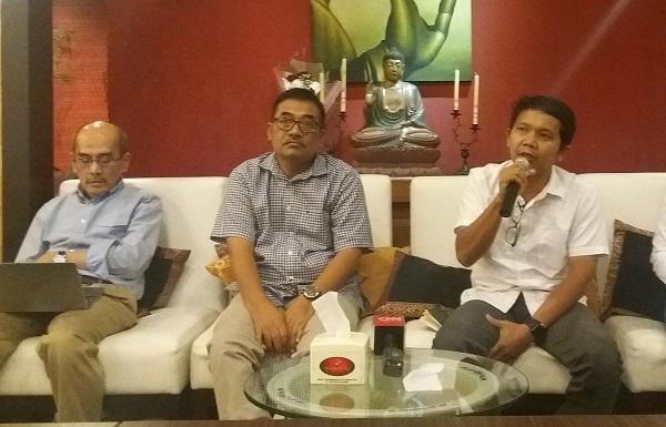 Diskusi di kawasan Menteng/Foto Fadilah/Nusantaranews