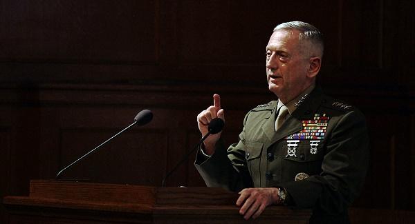 Menteri Pertahanan Amerika Serikat Jim Mattis.Foto: Politico