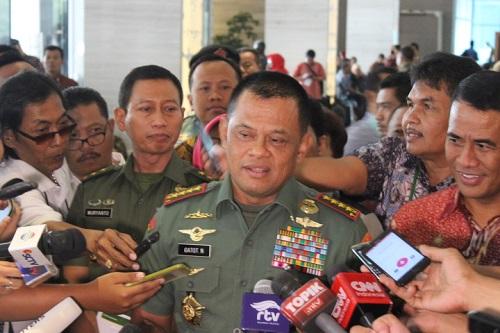 Panglima TNI Jenderal TNI Gatot Nurmantyo. Foto Richard Andika/ NUSANTARAnews.co