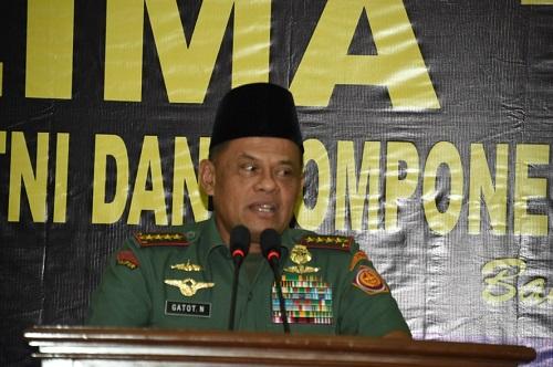 Panglima TNI Jenderal TNI Gatot Nurmantyo. Foto: Dok. Puspen TNI