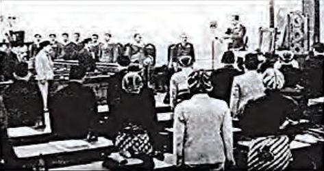 Persidangan resmi BPUPKI yang pertama. Foto: Wikipedia