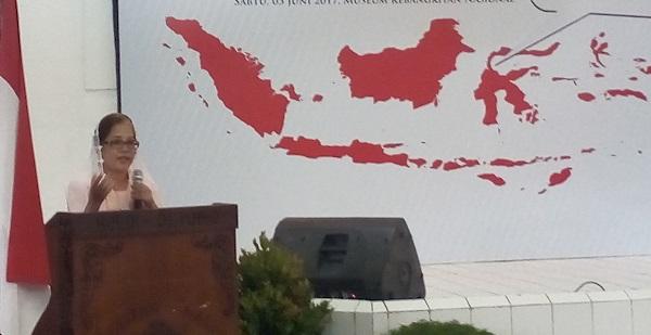 Perwakilan penggagas Gerakan Kebangkitan Nasional (GKN) jilid II Emmy Hafild/Foto Romandhon/Nusantaranews