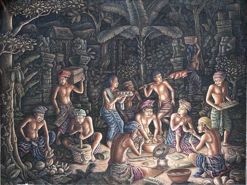 "I Ketut Triguna ""Gotong Royong"". Foto: Tari Gallery"