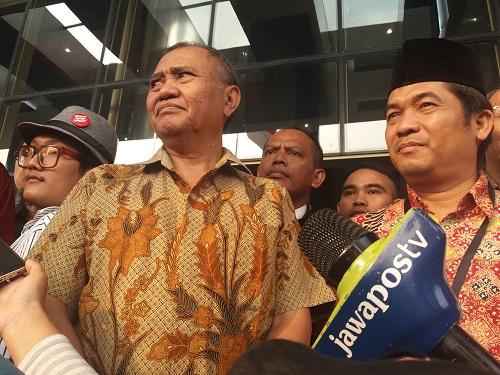 Ketua KPK, Agus Rahardjo. Foto Restu Fadilah/ NUSANTARAnews.co