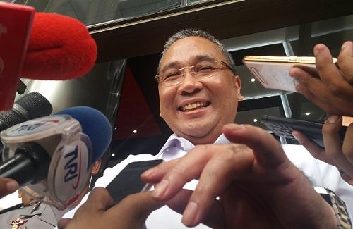Menteri Desa Pembangunan Daerah Menteri Desa Eko Putro Sandjojo. (Foto Restu Fadilah/Nusantaranews)
