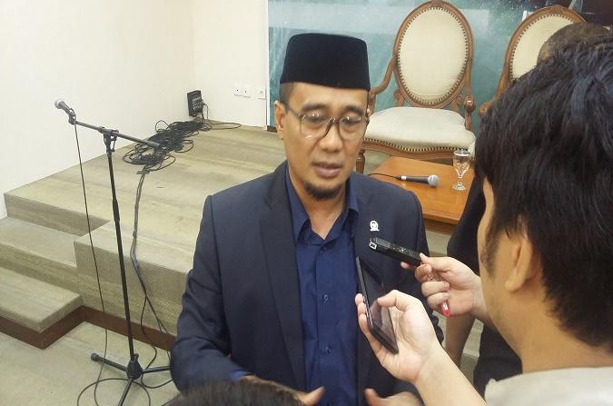 Anggota DPR RI Fraksi Hanura, Dadang Rusdiana. (Foto: Nusantaranews/Ucok Al Ayubbi)