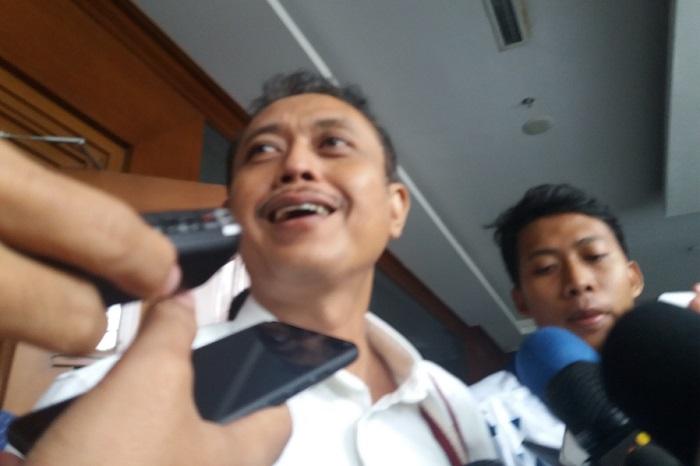 mantan Pejabat di Direktorat Jenderal Pajak (DJP) Kementerian Keuangan, Handang Soekarno/Foto Restu Fadilah/Nusantaranews