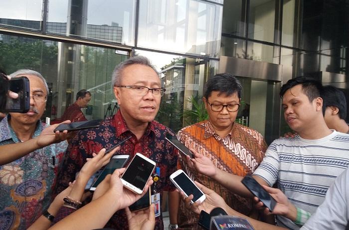 Direktur Jenderal (Dirjen) Bina Marga KemenPUPR, Arie Setiadi. Foto Restu Fadilah/ NUSANTARANEWS.CO