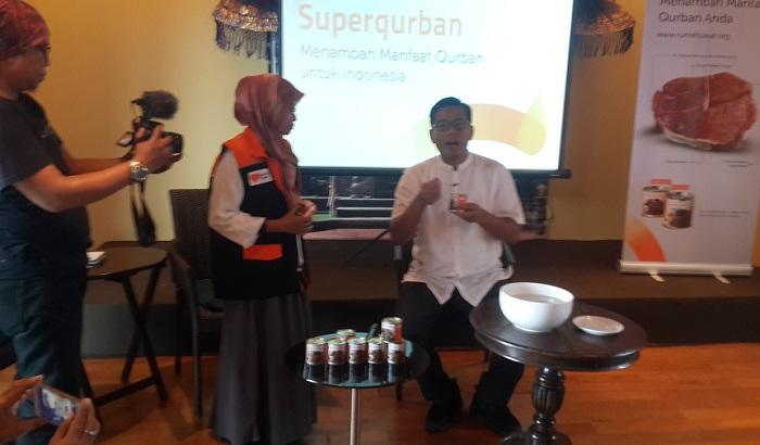 Superqurban Rumah Zakat Menambah Manfaat Qurban untuk Indonesia dan Dunia. Foto Yameen/ NUSANTARANEWS.CO