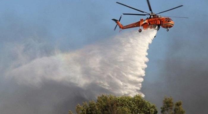 BNPB Kerahkan 18 Helikopter Pembom Air. Foto: Dok. rri.co.id
