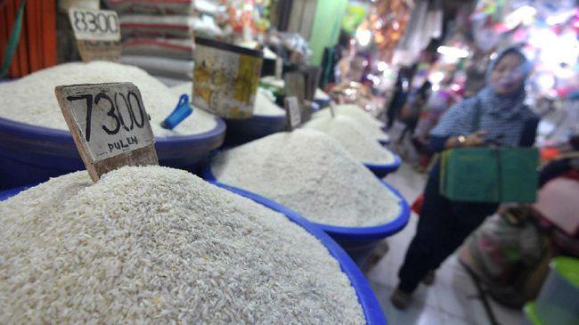 Beras di Pasaran/Foto via CNN/Nusantaranews