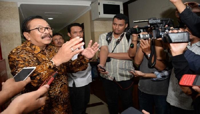 Ketua DPD Partai Demokrat Jatim, Soekarwo. (Foto: Nusantaranews/Tri Wahyudi)