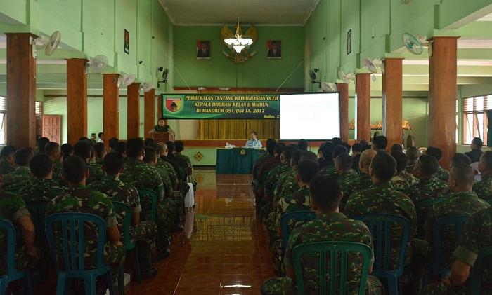 Komandan Korem 081/DSJ Kolonel Inf R. Sidharta Wisnu Graha, S.E. Foto Pen81/ NUSANTARANEWS.CO