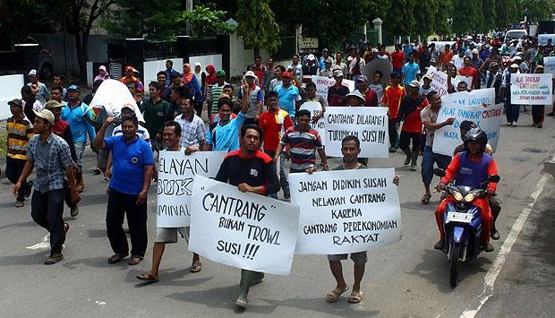 Demo Para Nelayan/Foto via tempo/Nusantaranews