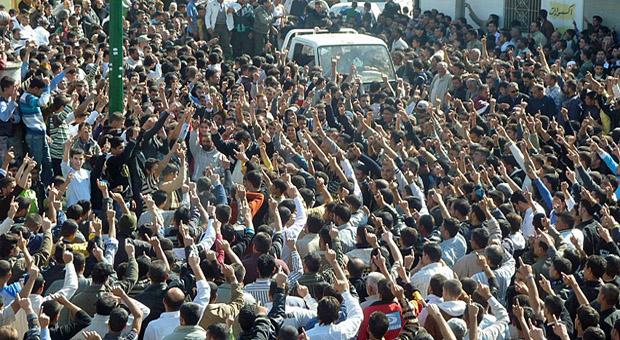 Demonstrasi Menentang Paham Hizbut Tahrir/Foto Ilustrasi/Istimewa/Nusantaranews