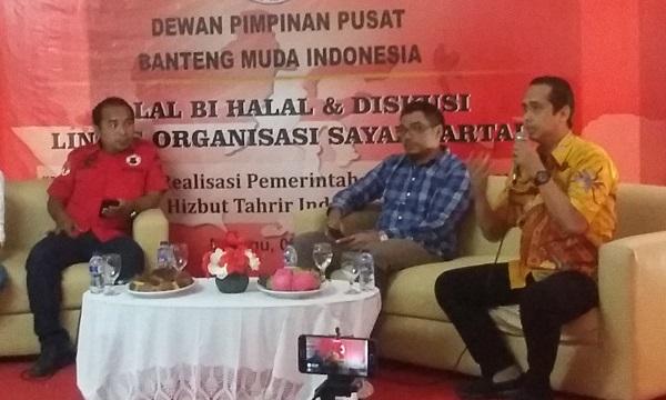 Diskusi yang digelar DPP Banteng Muda Indonesia/Foto Ucok/Nusantaranews