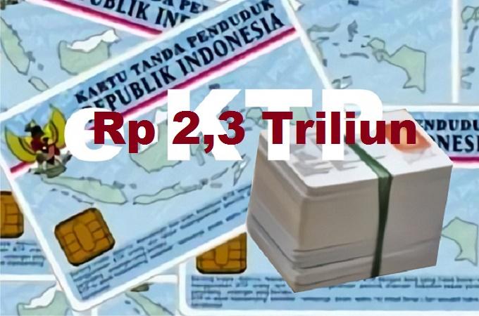 ILUSTRASI E-KTP. (Foto: Istimewa/NusantaraNews)