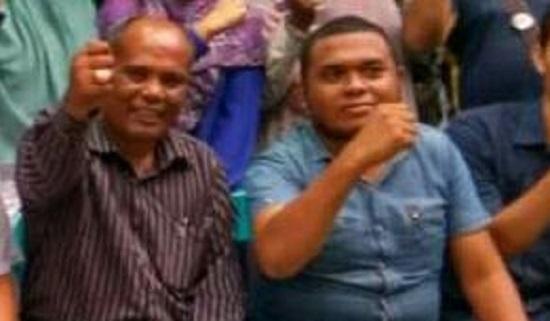 Pemegang mandat pembentukan DPD (Dewan Pimpinan Daerah) IKAN PIDIE, Maimun. Foto: Najmi