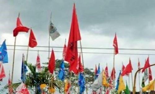 Ilustrasi Bendera Parpol. Foto: Dok. Bisnis Sulawesi