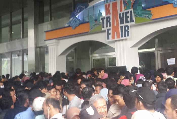 KAI Travel Fair 2017/Foto Dok. Pribadi/Nusantaranews