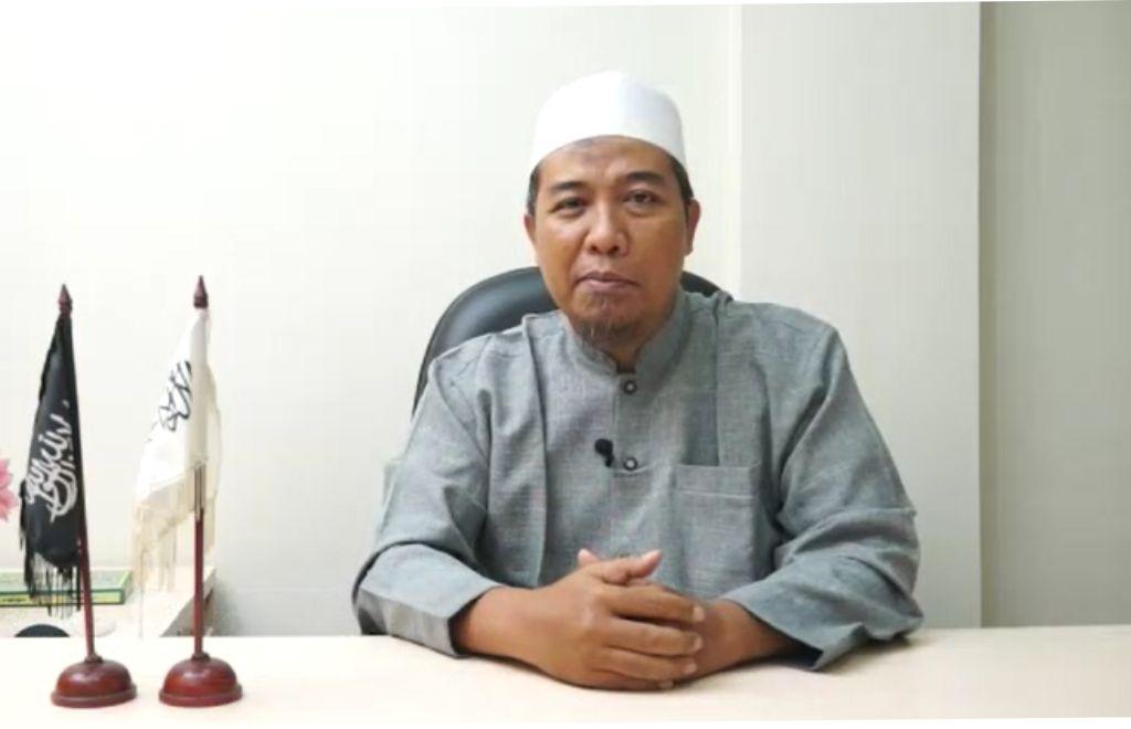 Ketua DPP HTI Rokhmat S Labib. Foto: Dok. HTI