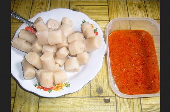 Kerupuk Basah Kuliner Nyamai Khas Kapuas Hulu Kalimantan Barat
