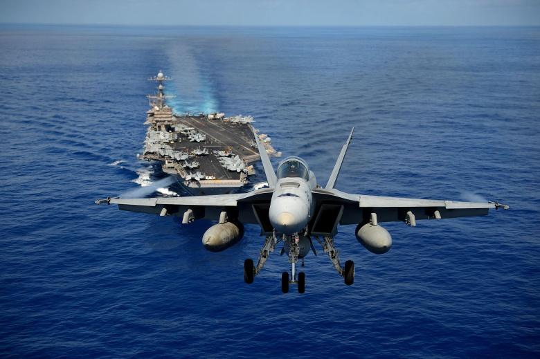 Latihan Perang Laut/Ilustrasi/Foto via nationalinterest/Nusantaranews