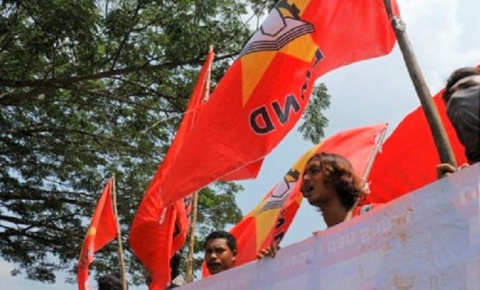Aksi Demonstrasi LMD. Foto: Dok. Pusat Perlawan/Istimewa