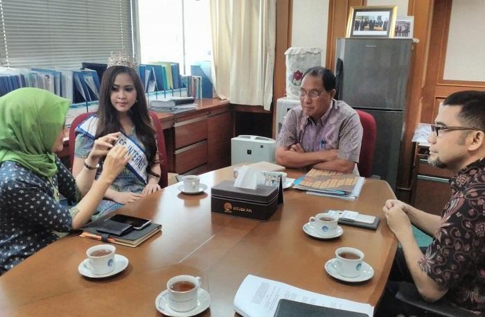 Kemenkominfo Gelar Audiensi dengan Miss Internet/foto Dok. Pribadi/Nusantaranews
