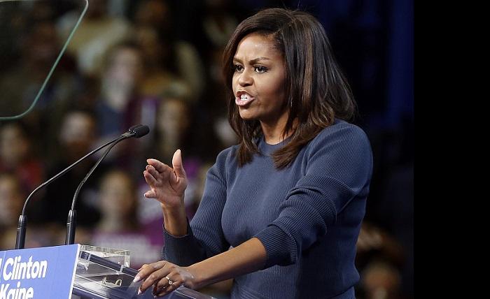 Michelle Obama. Foto: Dok. LA Times