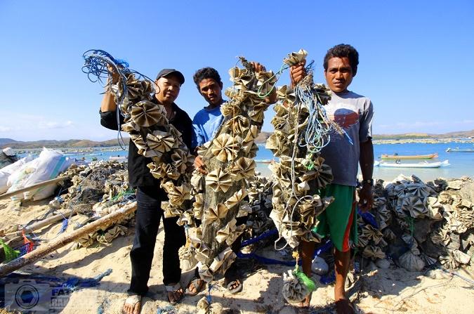 Nelayan Lobster. (Foto: jajar Karang)/Ilustrasi/Istimewa/Nusantaranews