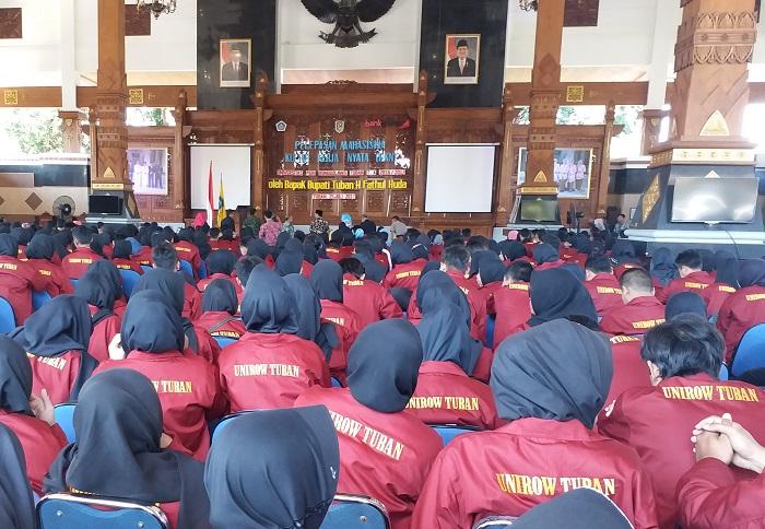 Pelepasan KKN Mahasiswa Unirow/Foto Dok. Pribadi/Nusantaranews