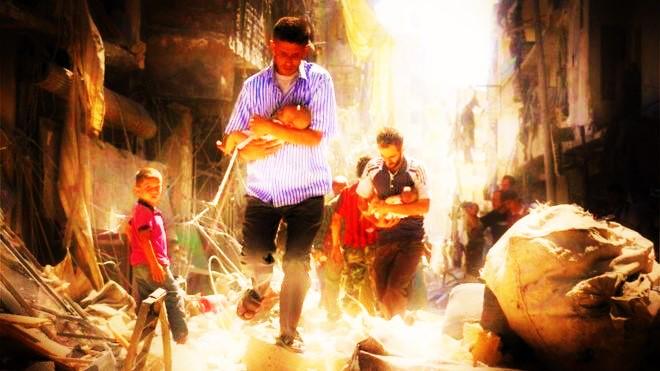 Perang di Suriah (Ilustrasi). Foto: Dok. BBC