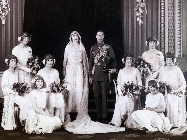 Pernikahan Duke of York dan Lady Elizabeth Bowes Lyon/Foto Istimewa/Nusantaranews