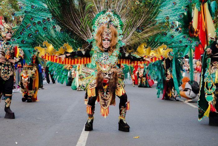 Peserta JFC Kenakan Kostum Reog/Foto via beritatagar/Nusantaranews