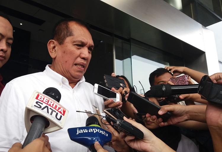 Politikus Partai Golkar, Chairuman Harahap/Foto Restu Fadilah/Nusantaranews