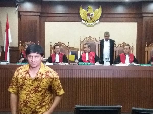 Politikus Partai Golkar, Fahd El Fouz alias Fadh A Rafiq/Foto Fadilah/Nusantaranews