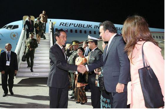 Presiden Jokowi tiba di Turki/Foto Dok. Setkab/Nusantaranews