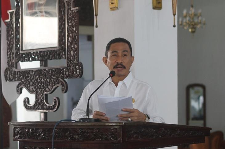 Sambutan Bupati Pati Haryanto kepada peserta KKN UMK/Foto Dok. Pribadi/Nusantaranews