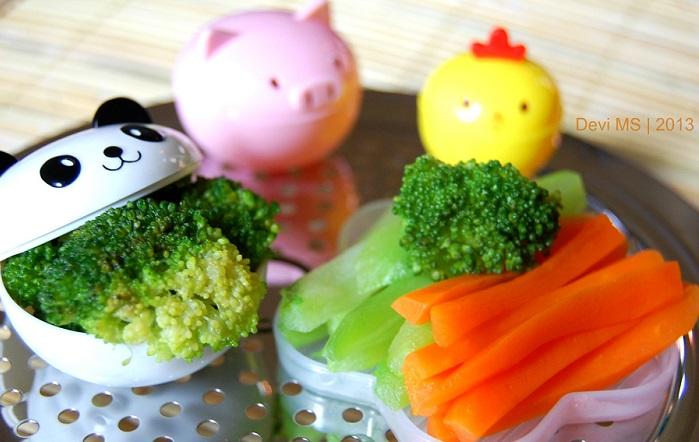 Sayuran Sehat buat Anak. Foto Devi MS