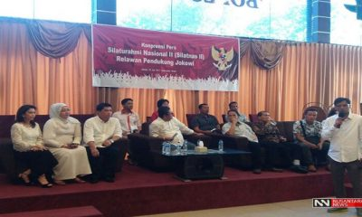 Silatnas Relawan Pendukung Jokowi (Foto Dok. Nusantaranews)