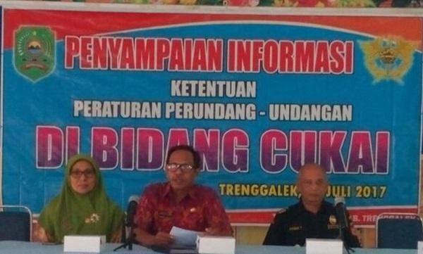 Sosialisasi ketentuan peraturan di bidang cukai tembakau/Foto Dok Pribadi/Nusantaranews