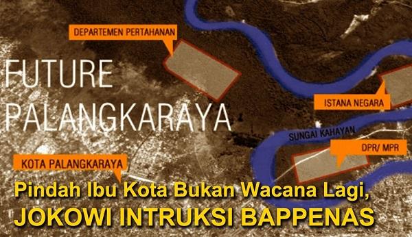 Wacana Pemindahan Ibukota/Foto Ilustrasi/Istimewa/Nusantaranews